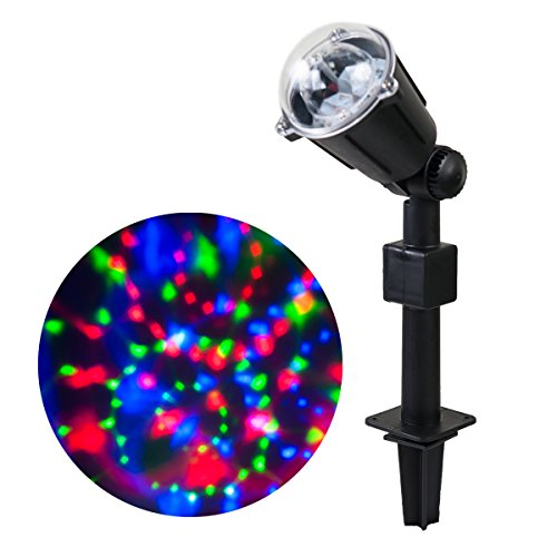Indoor Light Show: WED Rotating Kaleidoscope LED Projector Lights, Waterproof