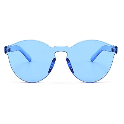 39740bf62d Armear Women Men Oversized One Piece Clear Lens Rimless Tinted Sunglasses  58mm. Wearme pro ...